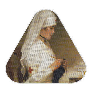 Portrait of a Nurse from the Red Cross Bluetooth Speaker