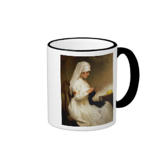 Portrait of a Nurse from the Red Cross Ringer Mug
