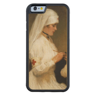 Portrait of a Nurse from the Red Cross Carved® Maple iPhone 6 Bumper