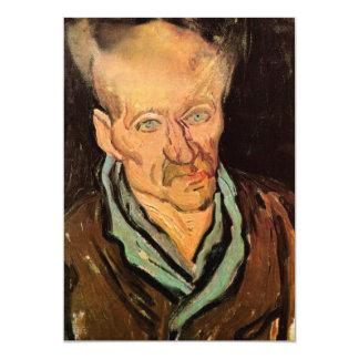 Portrait of a Patient at Saint-Paul  by van Gogh Card