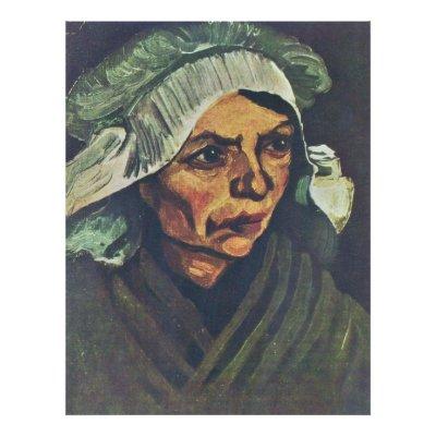van gogh portrait woman. Portrait Of A Peasant Woman