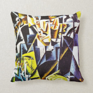 Portrait of a Philosopher, by Lyubov Popova Throw Pillow
