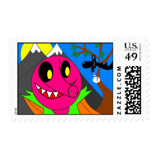 portrait of a pig product postage