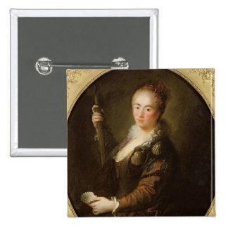 Portrait of a Pilgrim Button