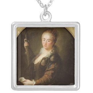 Portrait of a Pilgrim Silver Plated Necklace