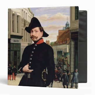 Portrait of a Police Officer in Douai in 1848 Binder