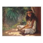 Portrait of a Polynesian Girl - Helen T. Dranga Post Cards