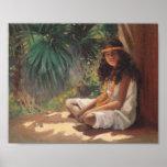 Portrait of a Polynesian Girl - Helen T. Dranga Posters