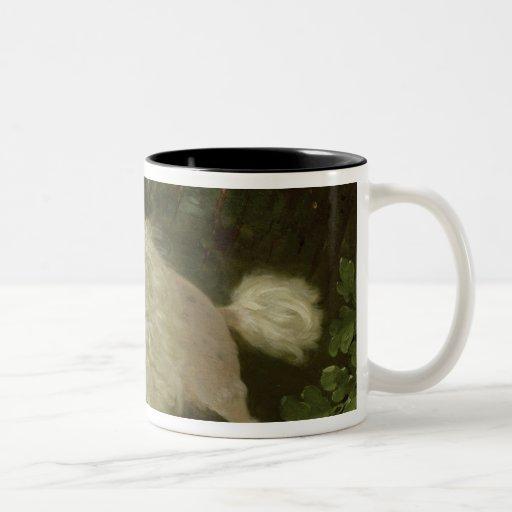 Portrait of a Poodle Mugs