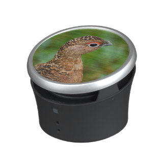 Portrait of a Ptarmigan Bluetooth Speaker