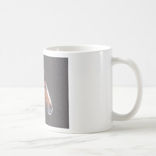 Portrait of a Quarterhorse Mugs
