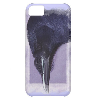 Portrait of a Raven Corvid-lovers Art Design iPhone 5C Cover