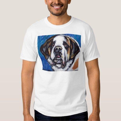 Portrait of a Saint Bernard Tshirt