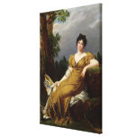 Portrait of a Seated Woman Gallery Wrapped Canvas