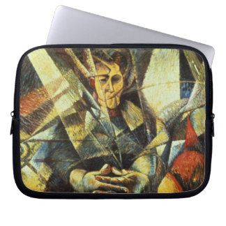 Portrait of a Seated Woman Laptop Sleeve