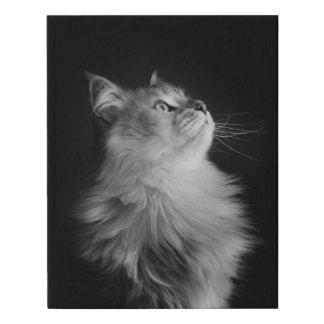 Portrait of a Siberian Faux Canvas Print