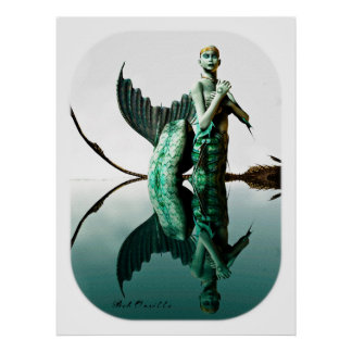 Portrait of a Siren Poster