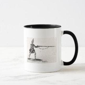 Portrait of a soldier, 1753 mug