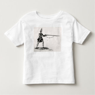 Portrait of a soldier, 1753 toddler t-shirt