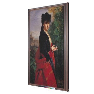 Portrait of a Spanish Woman Canvas Print