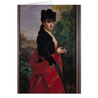 Portrait of a Spanish Woman Cards