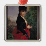 Portrait of a Spanish Woman Christmas Ornament