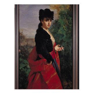 Portrait of a Spanish Woman Postcard