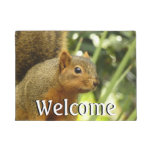 Portrait of a Squirrel Doormat