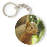 Portrait of a Squirrel Nature Animal Photography Keychain