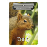 Portrait of a Squirrel Nature Animal Photography Mini Clipboard