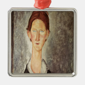 Portrait of a Student, c.1918-19 Metal Ornament