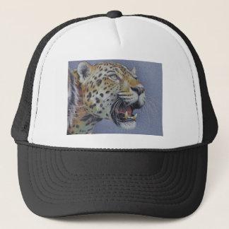 Portrait of a Tiger Head Trucker Hat