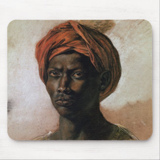 Portrait of a Turk in a Turban, c.1826 Mouse Pad