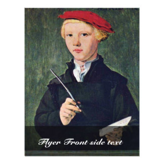 Portrait Of A Twelve Year Old Student.,  By Attrib Full Color Flyer