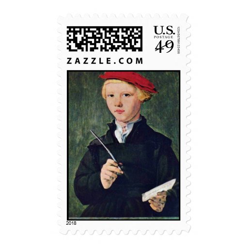 Portrait Of A Twelve Year Old Student.,  By Attrib Stamp