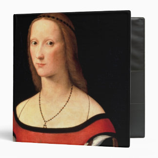 Portrait of a Woman, 1500s 3 Ring Binder