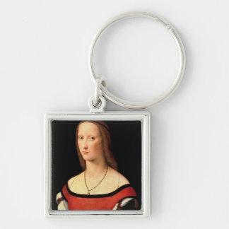 Portrait of a Woman, 1500s Keychain