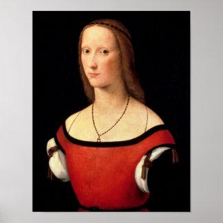 Portrait of a Woman, 1500s Poster
