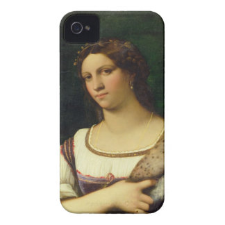 Portrait of a Woman, 1512 (oil on canvas) iPhone 4 Case