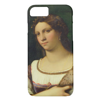 Portrait of a Woman, 1512 (oil on canvas) iPhone 8/7 Case