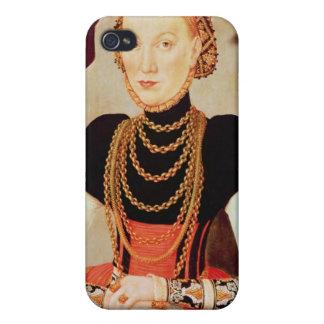Portrait of a woman, 1564 iPhone 4 case