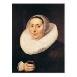 Portrait of a Woman, 1665 Postcard