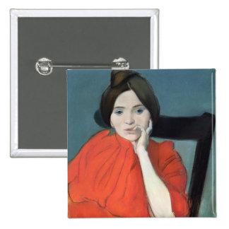 Portrait of a Woman, 1890 Pins