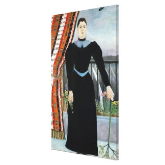 Portrait of a Woman, 1895 Canvas Print
