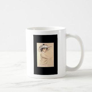 Portrait of a Woman 1909~  Paul César Helleu Coffee Mug