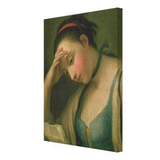 Portrait of a Woman 2 Canvas Print