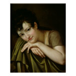 Portrait of a Woman 2 Print