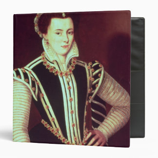 Portrait of a woman 3 ring binder