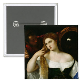 Portrait of a Woman at her Toilet, 1512-15 Button