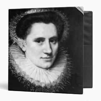 Portrait of a woman binders